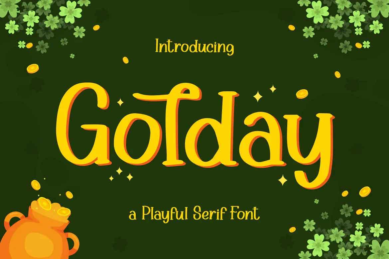Golday Font