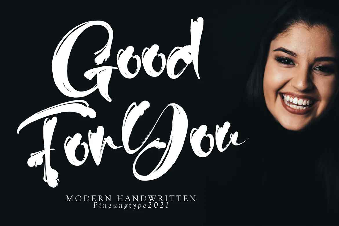 Good For You Font