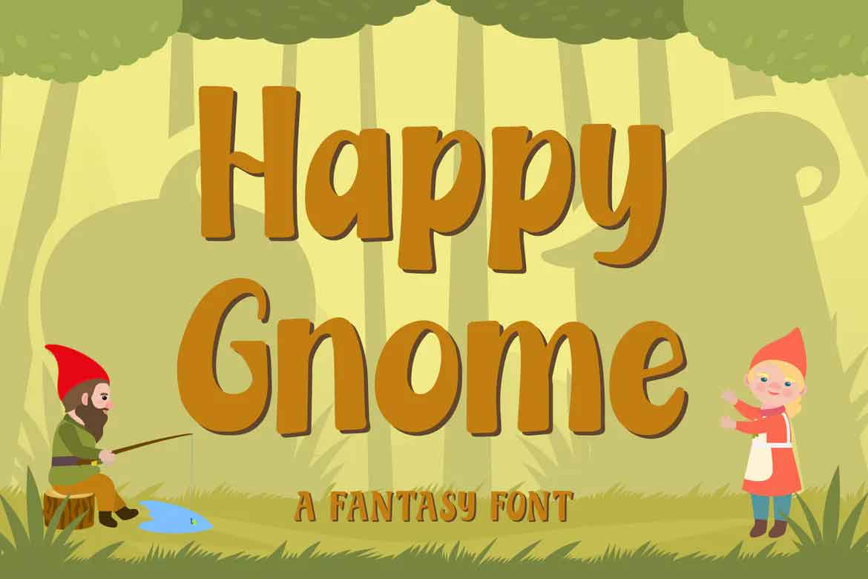 Happy Gnome Font
