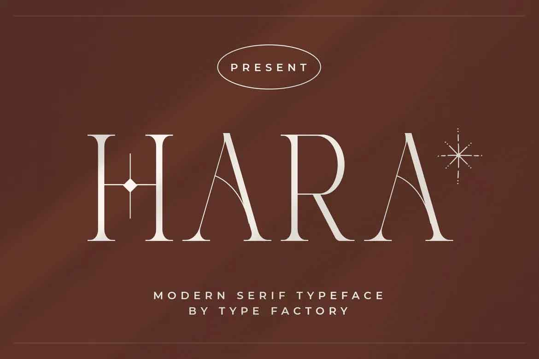 Hara Font