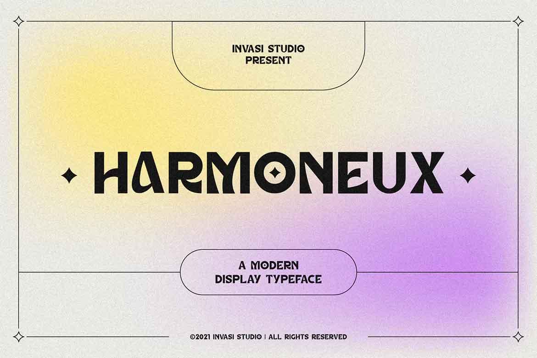Harmoneux Font