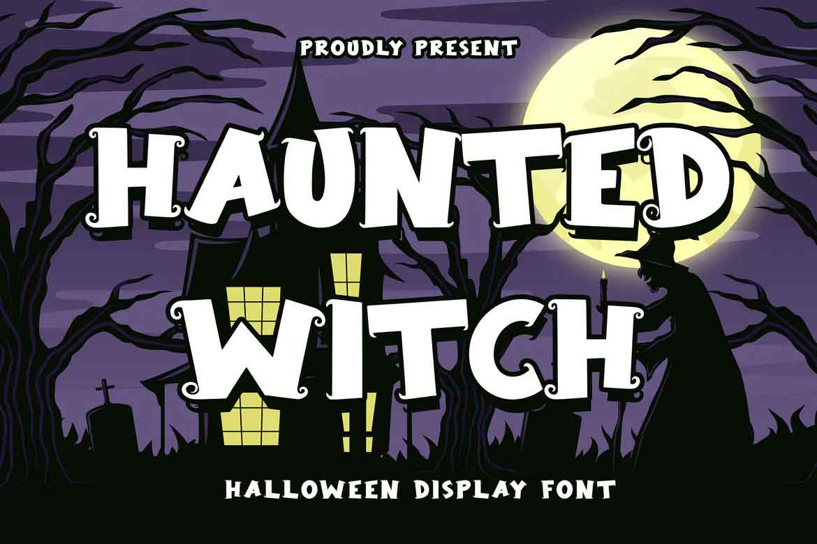 Haunted Witch Font