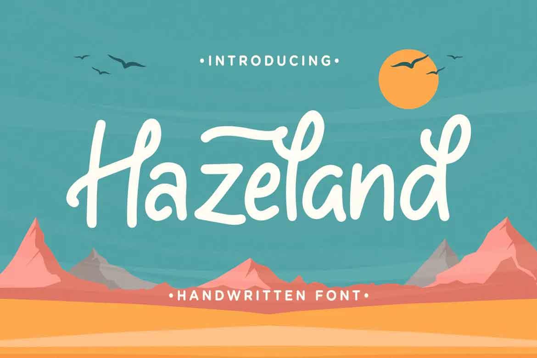 Hazeland Font
