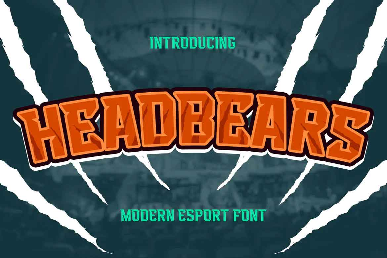 Headbears Font
