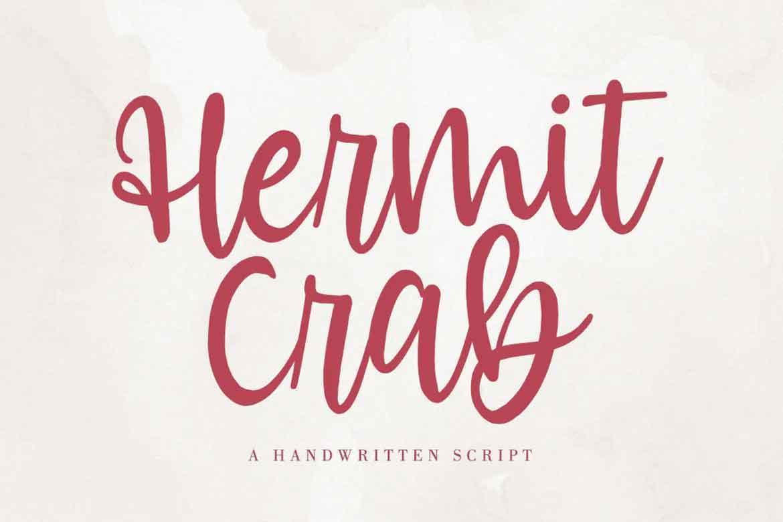 Hermit Crab Font