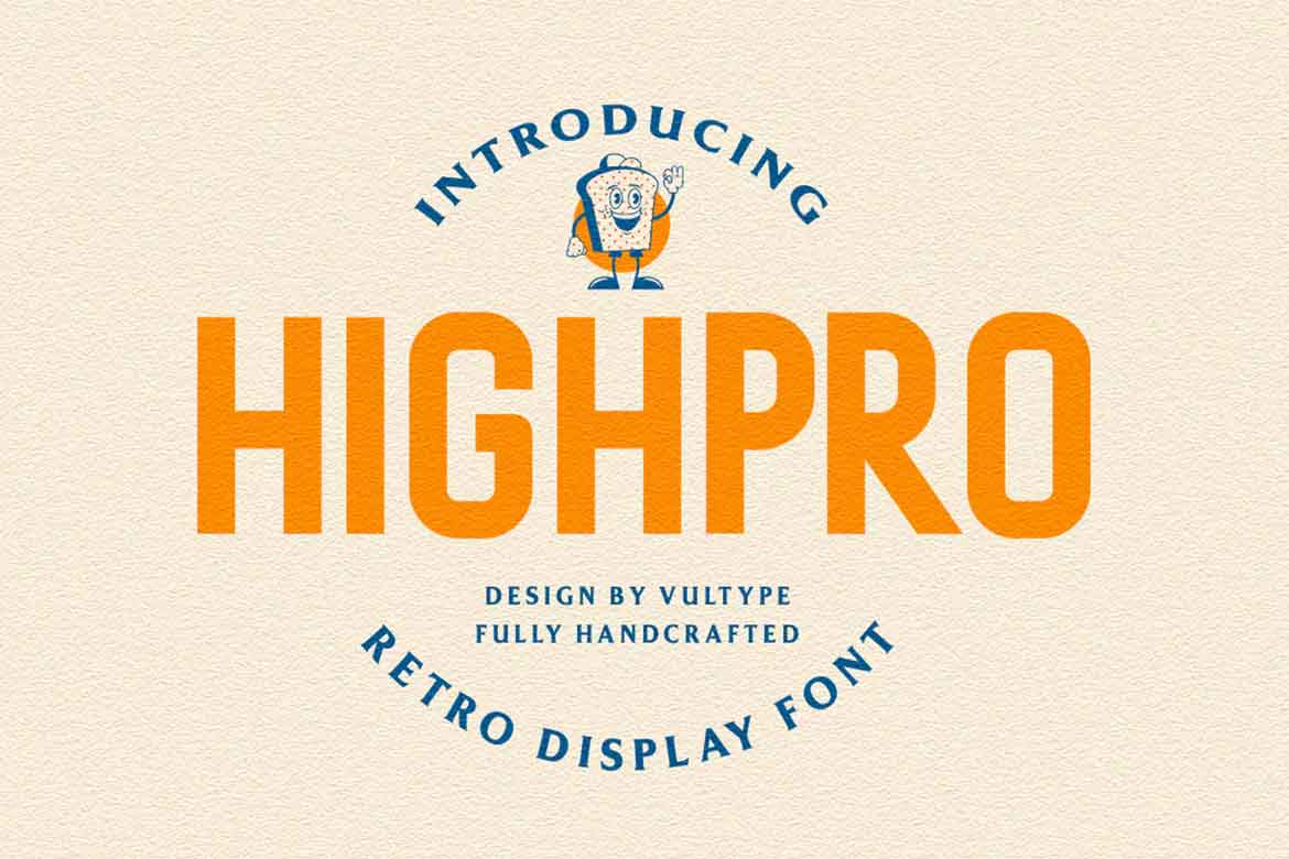 Highpro Condensed Font
