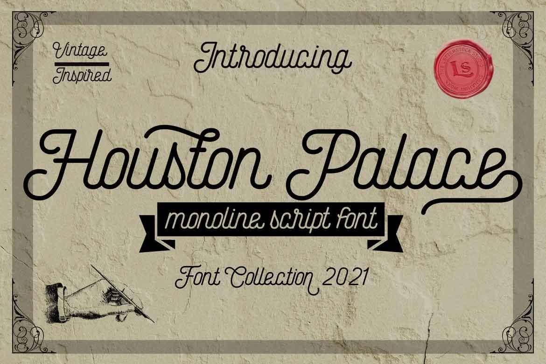 Houston Palace Font