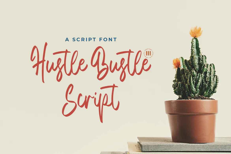 Hustle Bustle Script