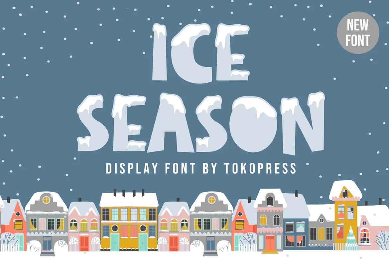 Ice Season Kids Font