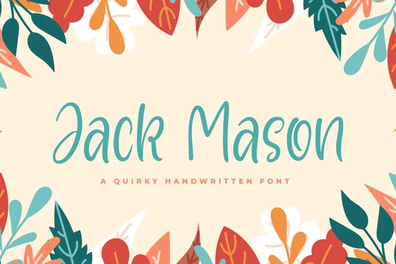 Jack Mason Font