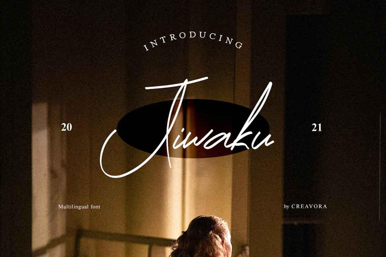 Jiwaku Font