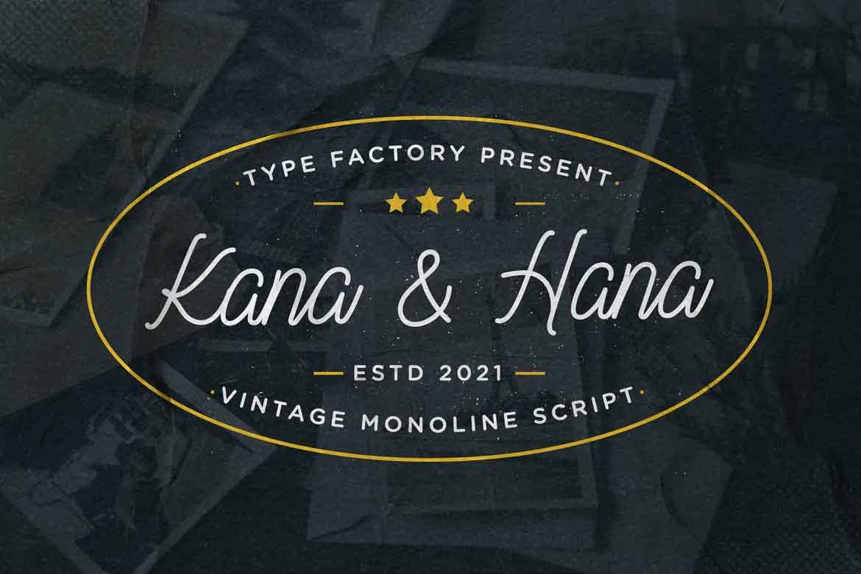 Kana & Hana Font