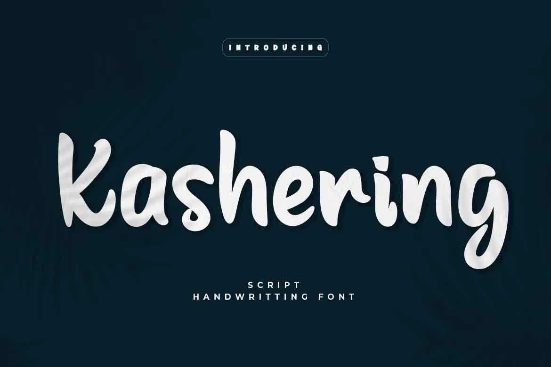 Kashering Font