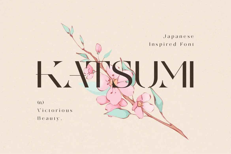 Katsumi Font