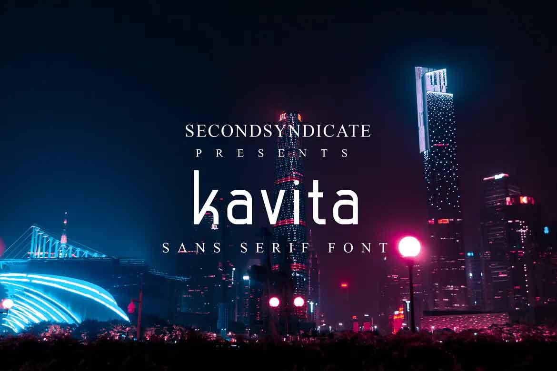 Kavita Sans Serif Font