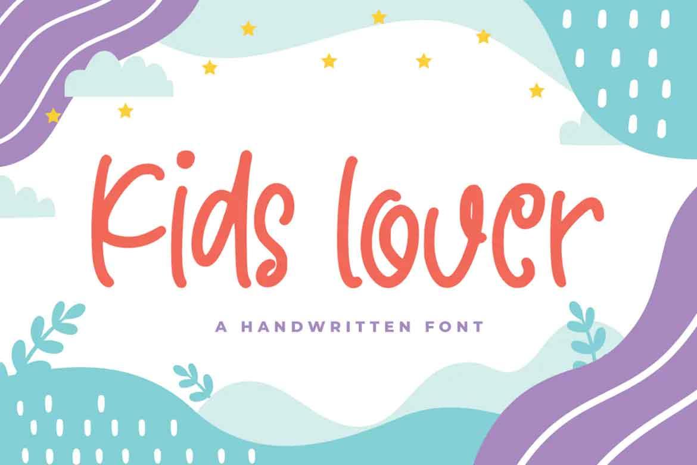 Kids Lover Font