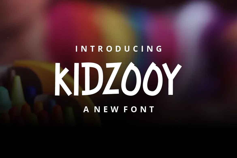 Kidzooy Font