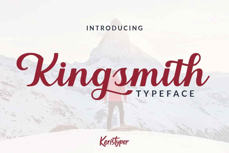 Kingsmith Font