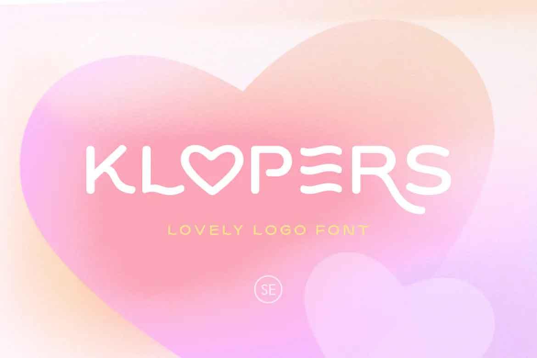 Klopers Font