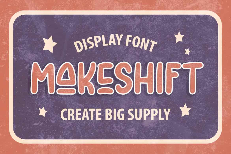 Makeshift Font