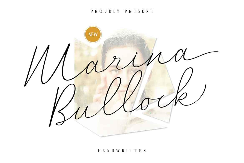 Marina Bullock Font