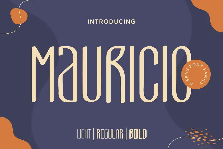 Mauricio A Sans Font Family