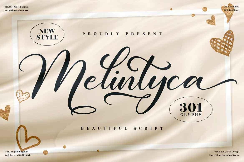 Melintyca Font