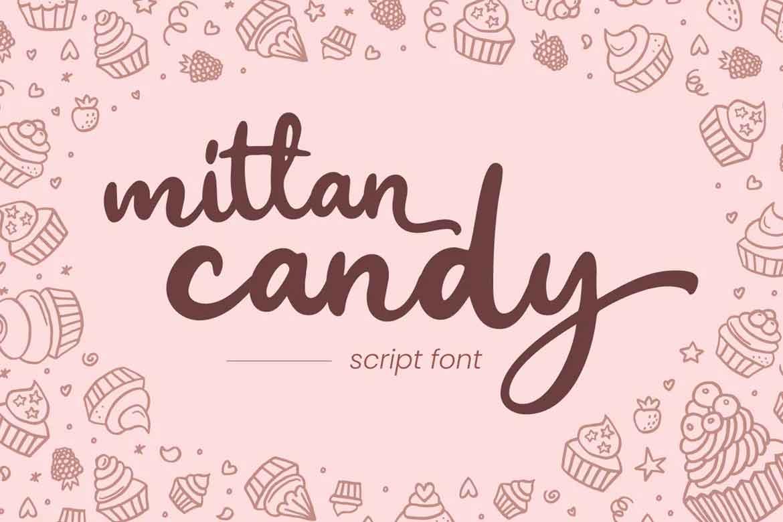 Mittan Candy Font