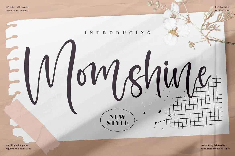 Momshine Font