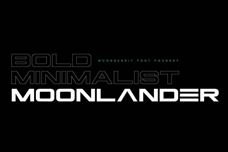 Moonlander Font
