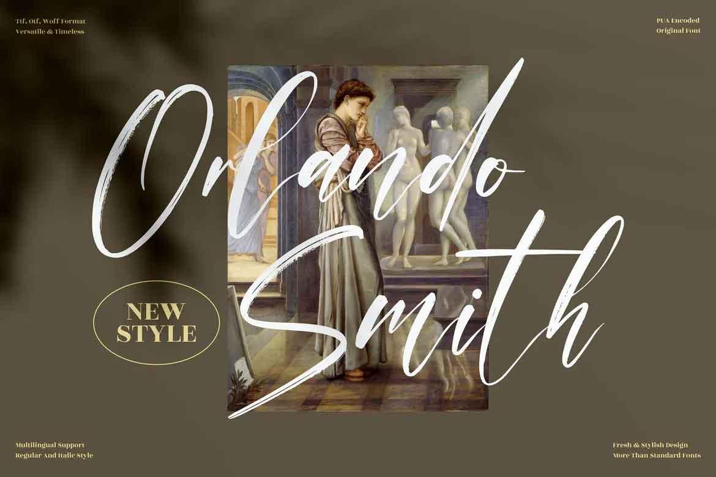 Orlando Smith Font