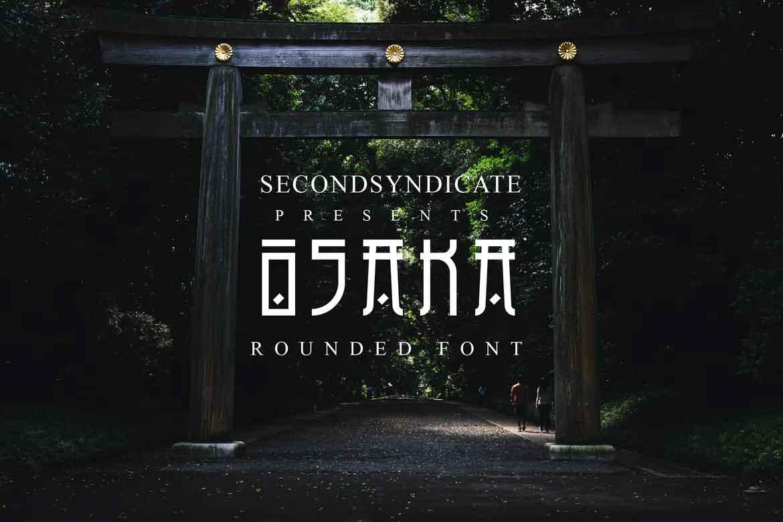 Osaka Japanese Font