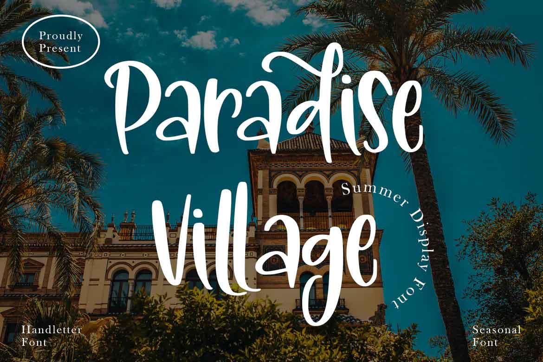 Paradise Village Font
