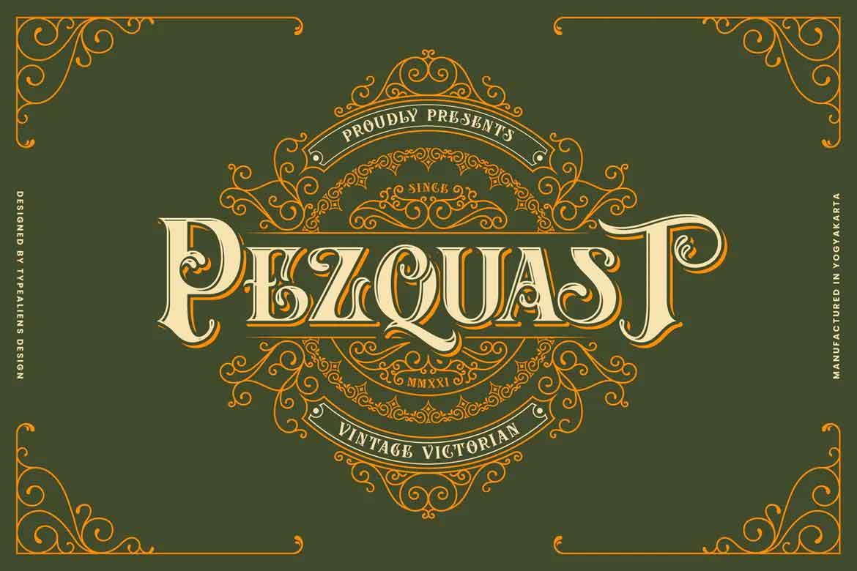 Pezquast Font