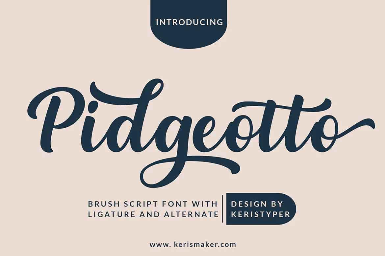 Pidgeotto Font
