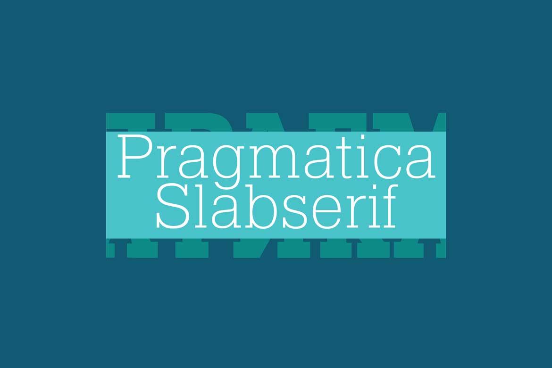 Pragmatica Slab Font Family