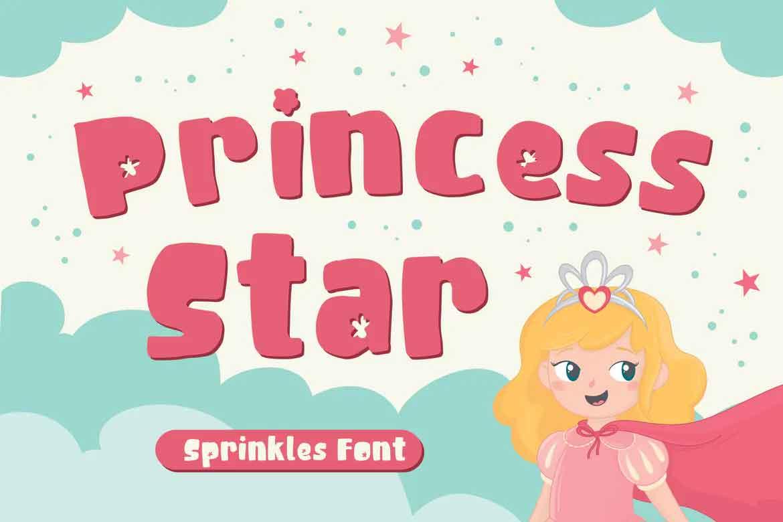 Princess Star Font