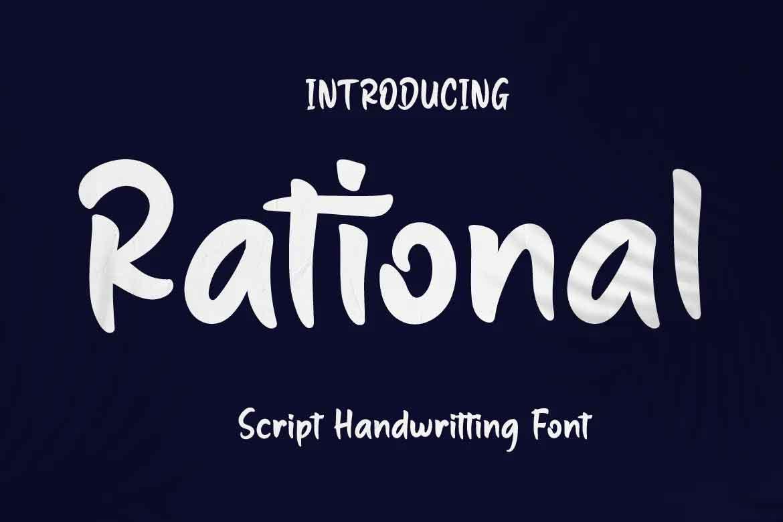 Rational Font