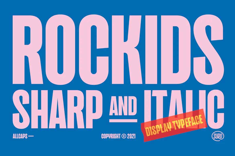 Rockids Sharp Font