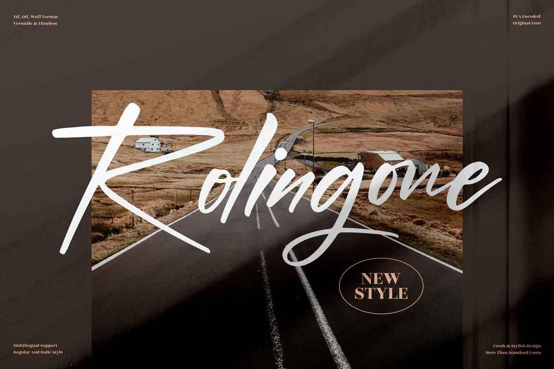 Rolingone Font
