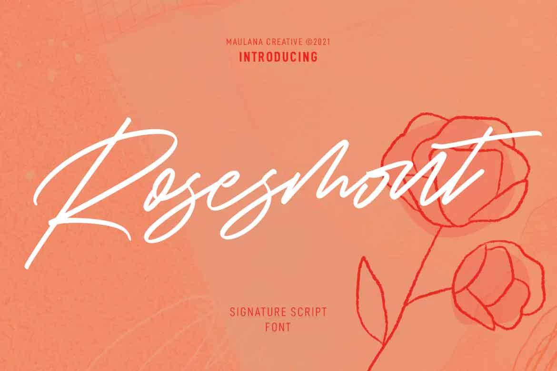 Rosesmont Font