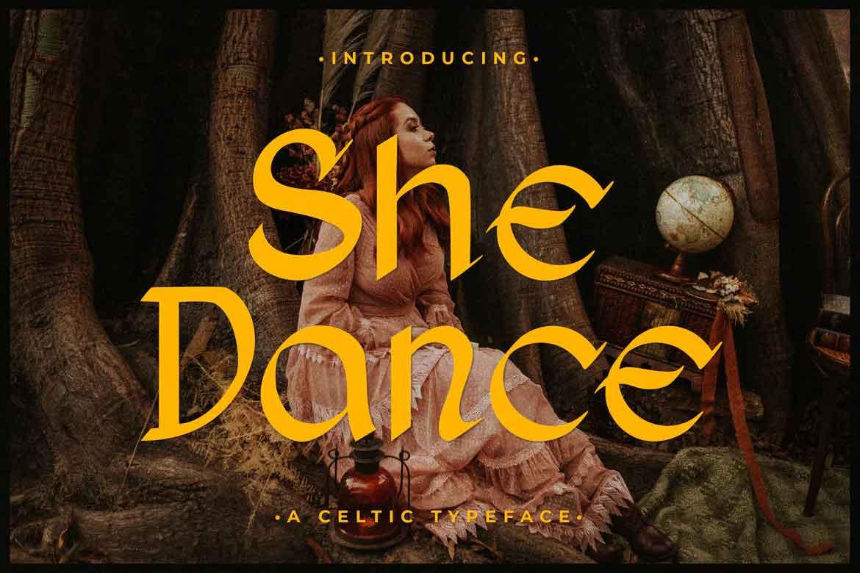 She Dance Font