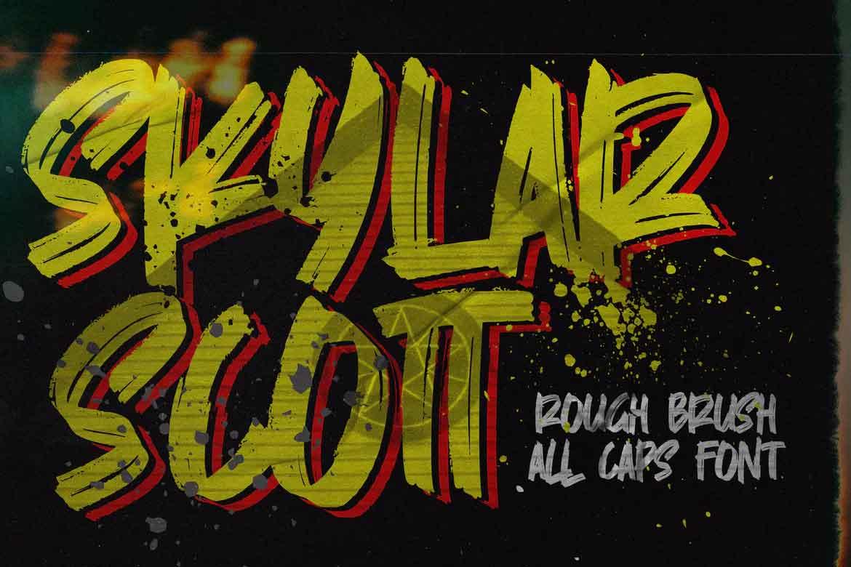 Skylarr Scott Font