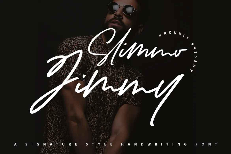Slimo Jimmy Font