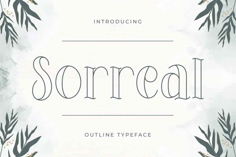 Sorreal Font