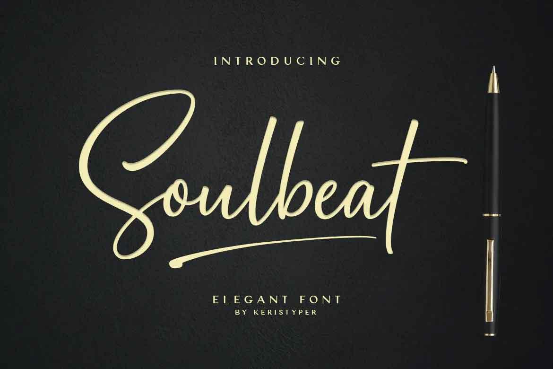 Soulbeat Signature Font