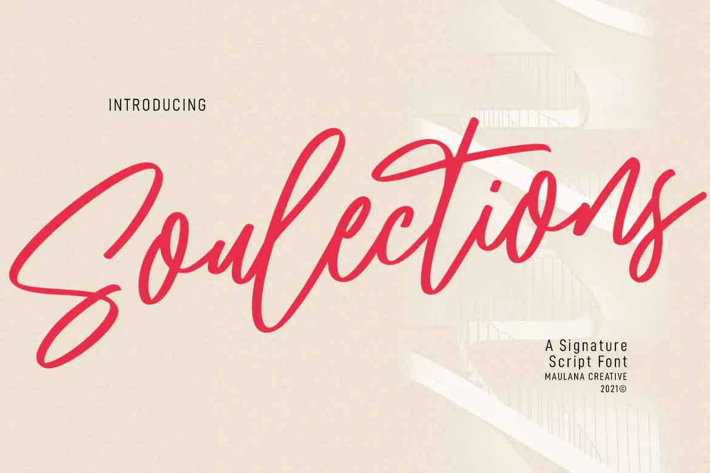 Soulections Script Font