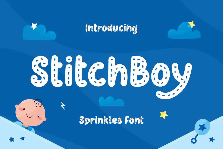 Stitch Boy Font