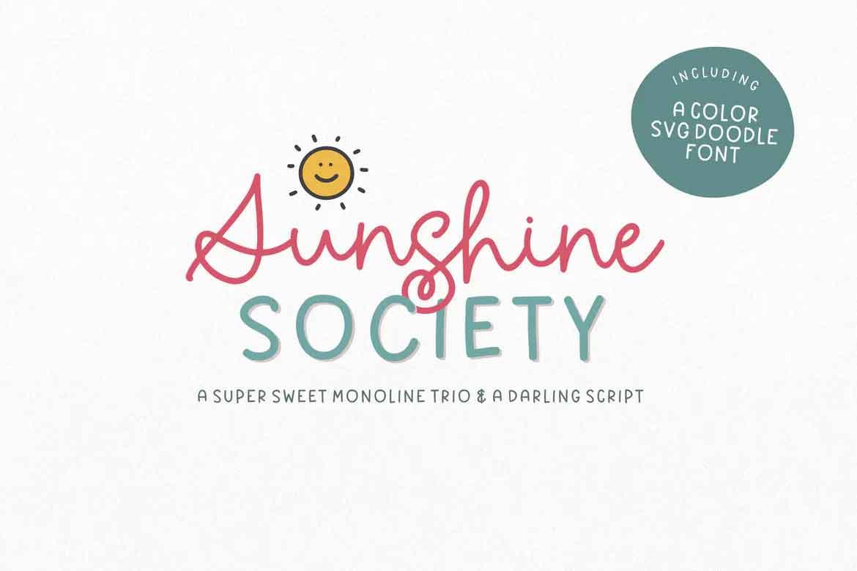 Sunshine Society Font