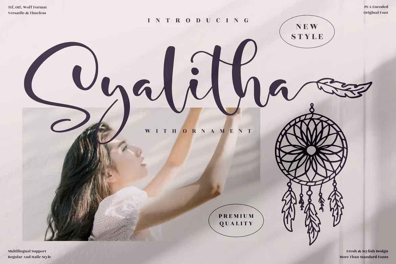 Syalitha Font